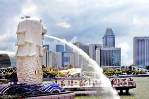 merlion singapour