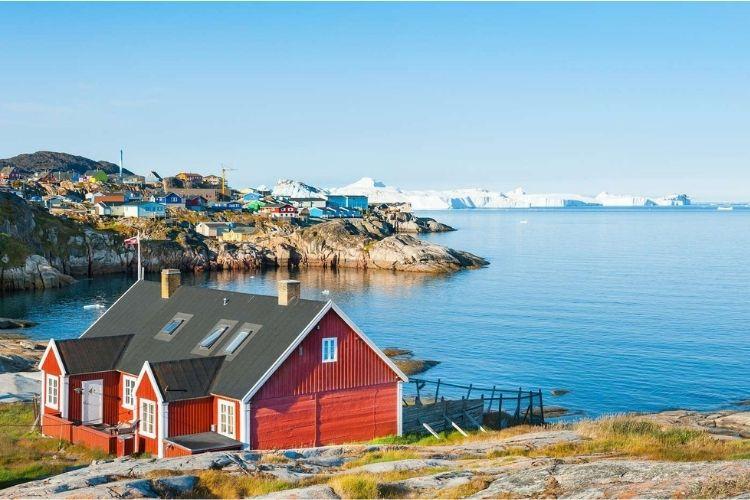 voyage de noce à Ilulissat, Groenland